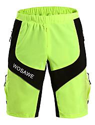 billige -Herre Cykel Shorts Åndbart Grøn Cykeltøj / Elastisk