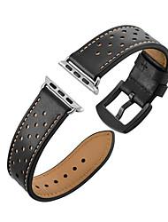 economico -Cinturino per orologio  per Apple Watch Series 4/3/2/1 Apple Chiusura moderna Vera pelle Custodia con cinturino a strappo