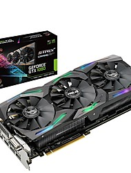 Недорогие -ASUS Video Graphics Card GTX1080Ti 1835  ,   1695   -   1809  ,   1670 МГц 10010MHz МГц 8 GB / 256 бит GDDR5