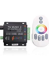 baratos -4a 3 canais RGB levado inteligente controlador IR música com controle remoto multifuncional para rgb conduziu a lâmpada de tira (12v-24v)