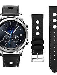 Недорогие -Ремешок для часов для Gear S3 Frontier / Gear S3 Classic LTE Samsung Galaxy Классическая застежка / Кожаный ремешок Кожа Повязка на запястье