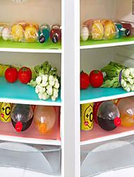 billiga -4st 4pcs / lot kan klippas kylskåp pad antibakteriell antifouling mögel fuktabsorption pad matta bord