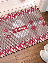 abordables -Paillasson Traditionnel Polyester Elastique Tissé 100g / m2, Rectangulaire Qualité supérieure Couverture