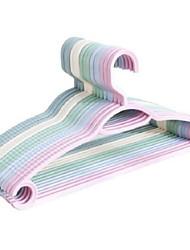 Недорогие -пластик сгущение Одежда Вешалка, 1pack