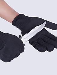 Недорогие -b-02 нержавеющая сталь / 75 г / м2 полиэфирные трикотажные защитные перчатки 0,17 кг