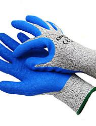 Недорогие -1 pcs Натуральный латекс Перчатка Cool / Нескользкой / Копание и посадка