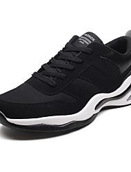 abordables -Homme Semelles légères Polyuréthane Automne Sportif Chaussures d'Athlétisme Course à Pied Respirable Noir / Noir et blanc / Noir / Rouge / Athlétique
