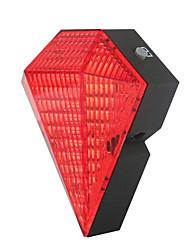 economico -Luci di coda LED Luci bici LED Ciclismo Portatile, Regolabili, Dimensione del viaggio Litio-polimero 20 lm Batteria ricaricabile Rosso Campeggio / Escursionismo / Speleologia / Ciclismo