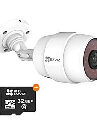 Недорогие -ezviz® 2.8 мм 1,3-мегапиксельная ip-камера для наружной поддержки 32 ГБ