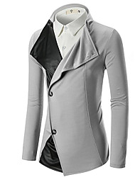 cheap -Men's Active Blazer-Solid Colored