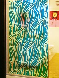 Недорогие -Оконная пленка и наклейки Украшение Современный Геометрический принт / другое ПВХ Стикер на окна / Новый дизайн