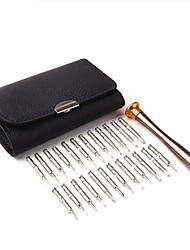 cheap -Carbon Steel / Alloy Phone Repair 25 in 1 Tool Set