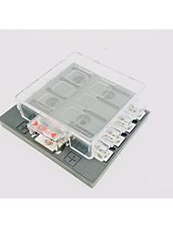 Недорогие -dc32v 100a коробка для плавких вставок автомобиля / корабля 8-контактный выход (30a за контур) одиночный вход питания