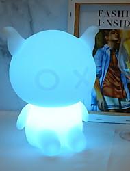 Недорогие -1шт LED Night Light USB Дистанционно управляемый / Новый дизайн / Меняет цвета <=36 V