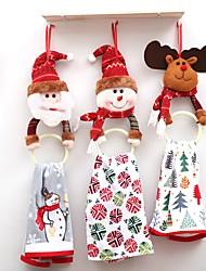abordables -Ornements / Favoriser Décoration Accessoires Parti Noël / Fête / Soirée Noël / Costumes de père noël / Elk PVC / Non-tissé