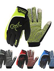 Недорогие -Спортивные перчатки Перчатки для велосипедистов Отражение / Сохраняет тепло / Anti-Shake Полиэстер / силикагель Велосипедный спорт / Велоспорт / Мотобайк Муж. / Жен.