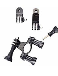 Недорогие -Подставка Винт-на / Защита от удара / с подставкой Cup Для Экшн камера Все / Xiaomi Camera / SJ4000 Мотобайк / Мотоцикл / Односкоростной велосипед Металлические / пластик - 1 pcs