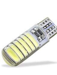 abordables -SO.K 10pcs Automatique Ampoules électriques SMD 5730 / SMD 7020 100 lm 12 LED Clignotants Pour Universel Toutes les Années