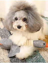 baratos -Brinquedos que Guincham rangido / Macio / Brinquedo dos desenhos animados Tecido Para Cachorros / Gatos
