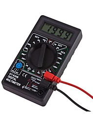 Недорогие -Цифровой мультиметр dt830b измеряет постоянное напряжение / переменное напряжение, постоянный ручной мультиметр
