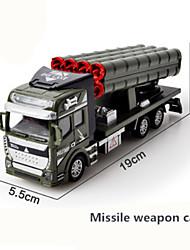 Недорогие -Военная техника Машина скорой помощи Пожарная машина Игрушечные грузовики и строительная техника 1:48 моделирование Пластиковые & Металл 1 pcs Дети Игрушки Подарок