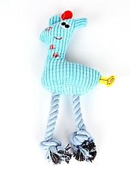 Недорогие -Жевательные игрушки / Интерактивный / Плюшевые игрушки Подходит для домашних животных / Войлок / Ткань / Мультфильм игрушки Плюш Назначение Собаки