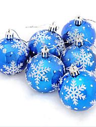 abordables -Décorations de Noël Arbre de Noël PVC Circulaire Décoration de Noël