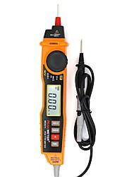 baratos -multímetro tipo caneta multímetro de alta precisão acdc tensão atual diodo ligado e desligado buzzer com lanterna