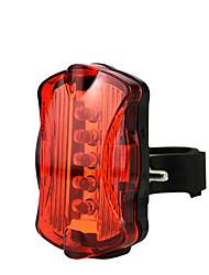Недорогие -Светодиодная лампа Велосипедные фары Задняя подсветка на велосипед Горные велосипеды Велоспорт Водонепроницаемый Быстросъемный Легкость Литий-ионная 50 lm AAA-батарея Красный