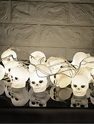 Недорогие -HKV 3M Гирлянды 16 светодиоды Белый Творчество / Для вечеринок / Декоративная Аккумуляторы AA 1шт