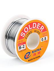 baratos -Alta qualidade 63/37 rosin núcleo de fluxo de fio de solda 2% de solda de chumbo estanho ferro carretel de fio de solda b-2 1.0mm 100g