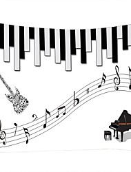 Недорогие -Музыка / Семья Декор стены 100% полиэстер Modern Предметы искусства, Стена Гобелены Украшение
