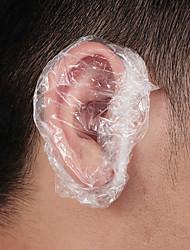 Недорогие -100pc одноразовые водонепроницаемые детские взрослые крышки ванна душ салон уха защитная крышка колпачки окрашивание волос одноразовая защита тела наушников