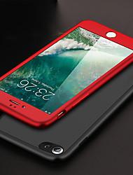 Недорогие -Кейс для Назначение Apple iPhone X / iPhone 8 Plus Матовое Чехол Однотонный Мягкий ТПУ для iPhone X / iPhone 8 Pluss / iPhone 8