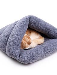 お買い得  -犬用 / 猫用 ベッド ペット用 マット / パッド ソリッド 携帯用 / ウォーム / スリッパ ホワイト / グレー / コーヒー ペット用