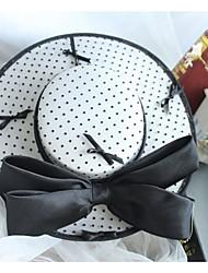 Недорогие -Ткань Головные уборы с Бант 1 шт. Свадьба / Особые случаи Заставка