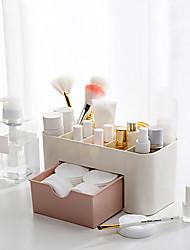 Недорогие -Место хранения организация Косметологический макияж пластик Квадратная Двойной слой