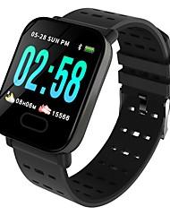 baratos -BoZhuo A6 Pulseira inteligente Android iOS Bluetooth Impermeável Monitor de Batimento Cardíaco Medição de Pressão Sanguínea Calorias Queimadas Tora de Exercicio Podômetro Aviso de Chamada Monitor de