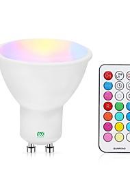 billiga -YWXLIGHT® 1st 5 W 400-500 lm GU10 LED-spotlights 24 LED-pärlor SMD Bimbar / Fjärrstyrd RGBW / RGBWW 85-265 V