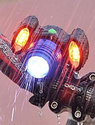 baratos -Luz Frontal para Bicicleta Luzes de Bicicleta Ciclismo Impermeável, Portátil, Ajustável Bateria Recarregável 500 lm USB Port Campismo / Escursão / Espeleologismo / Ciclismo
