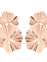 billige -Dame Vintage Stil Dråbeøreringe - Guldbelagt, Rødguldbelagt Stilfuld, Europæisk Guld / Sølv / Rose Guld Til Gade