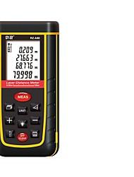 baratos -laser range finder 80 metros / portátil de alta precisão rza80 handheld régua eletrônica