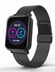 billige -Smart Armbånd R6-G for Android iOS Bluetooth Vandtæt Pulsmåler Blodtryksmåling Touch-skærm Brændte kalorier Skridtæller Samtalepåmindelse Aktivitetstracker Sleeptracker