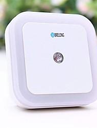 Недорогие -brlong интеллектуальное управление светом индукция нас стандартный квадратный ночник 1 шт.