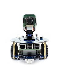 Недорогие -wavehare alphabot2-pi3 b + (ru) alphabot2 комплект для сборки роботов для малины pi 3 модель b +