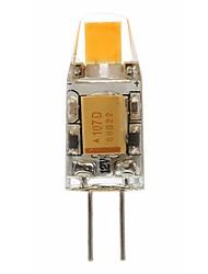 Недорогие -SENCART 1шт 2 W 180 lm G4 Двухштырьковые LED лампы T 1 Светодиодные бусины COB Декоративная Тёплый белый / Белый 12 V
