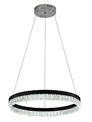 baratos -VALLKIN Circular Lustres Luz Ambiente Galvanizar Acabamentos Pintados Metal Cristal, Ajustável 110-120V / 220-240V Branco Quente / Branco Frio / Branco
