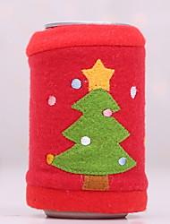 رخيصةأون -حقائب النبيذ وحمالاته عطلة غير المنسوجة Cube حداثة زينة عيد الميلاد