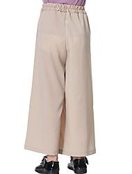 tanie -Dzieci Dla dziewczynek Solidne kolory Spodnie
