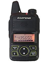 baratos -walkie-talkie baofeng® bf-t1 portátil 3km-5km 20 1 rádio bidirecional w